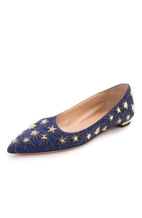 Aquazzura Cosmic Star Flat