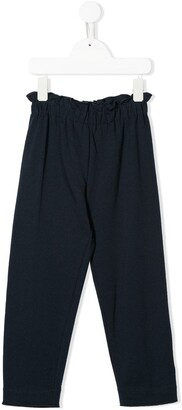 Il Gufo Elasticated Waist Straight Trousers