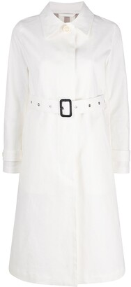 MACKINTOSH Roslin single-breasted belted trench coat