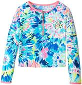 Lilly Pulitzer UPF 50+ Mini Sydney Sunguard Girl's Swimwear
