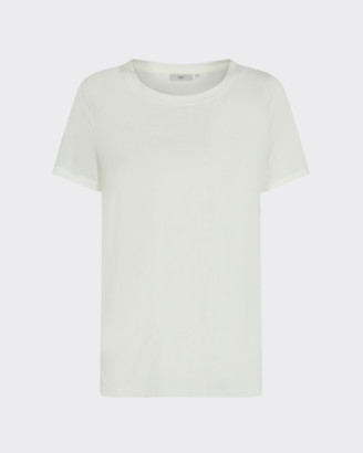 Minimum - Rynah T-Shirt - Size S | polyester | white - White/White