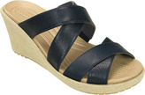 Crocs Women's A-leigh Crisscross Wedge Sandal