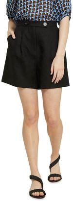 Oxford Sasha Linen Blend Shorts