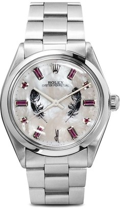 Jacquie Aiche Rolex Oyster Perpetual Feather 40mm