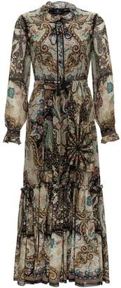 Etro Silk Long Dress