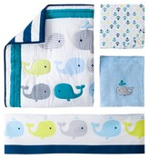 Circo 4pc Crib Bedding Set - Whales 'n Waves