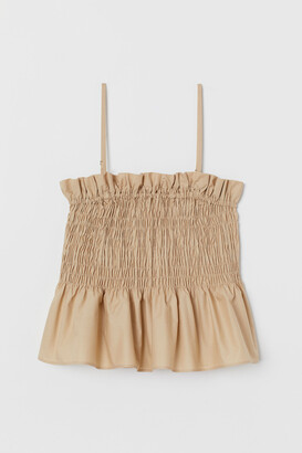 H&M Smocked Camisole Top