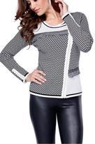 Belldini Moto Jacket Sweater