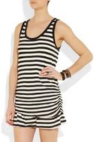 Proenza Schouler Striped jersey mini dress