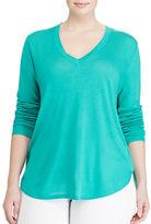Lauren Ralph Lauren Plus Haivyn Silk-Blend Sweater