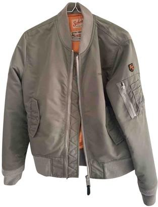 Schott Khaki Synthetic Jackets