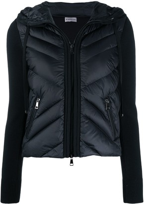 Moncler Panelled Down Cardigan