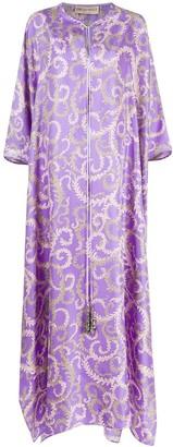 Emilio Pucci x Koche Selva-print kaftan dress