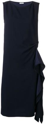 P.A.R.O.S.H. boat neck shift dress