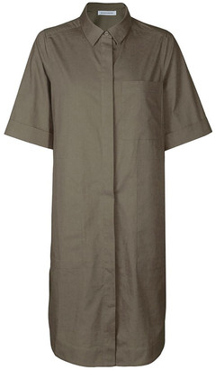 Skin and Threads Cotton-Poplin Shirt Dress