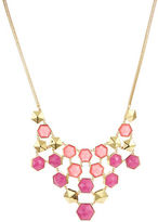 Trina Turk Hexagon Bib Necklace