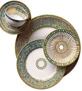Mottahedeh Syracuse Turquoise Bread & Butter Plate
