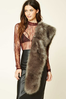 Forever 21 FOREVER 21+ Faux Fur Stole