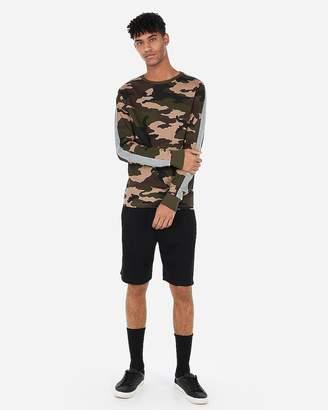 Express Camo Sleeve Stripe Jersey T-Shirt