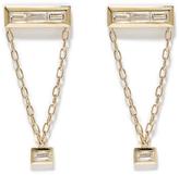 Azlee White Light Chair Earrings