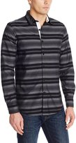 Nautica Men's Slim Fit Horizontal Stripe Shirt