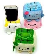 Imixshopcs Cartoon Plush ToFu Cell Phone Stand Holder For iPhone