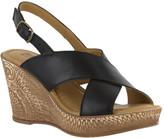 Bella Vita Women's Lea-Italy Slingback Wedge Sandal
