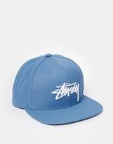Stussy Snapback Cap - Blue