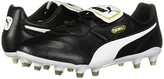 Puma King Top FG Black White) Men's Soccer Shoes