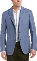 Canali Wool & Linen-Blend Blazer