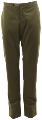 Maison Margiela Green Cotton Trousers
