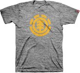 Element Men's Tree Logo Short Sleeve T-Shirt, Grey Heather