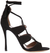 Tabitha Simmons lace-up sandals - women - Leather/Suede - 35