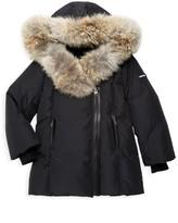 Mackage Girl's Coyote Fur Trim Parka