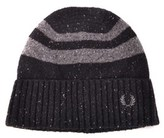 Fred Perry Men's Black Wool Hat.