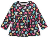 First Impressions Squirrel-Print Babydoll Tunic, Baby Girls, Only at Macy's
