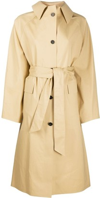 Kassl Editions Belted Trench Coat
