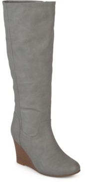 Journee Collection Women's Wide Calf Langly Boot Women's Shoes