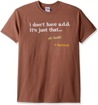 T Line T-Line Men's Funny Shirt I Don't Have ADD/Squirrel Graphic T-Shirt