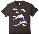Kids Super Fun Youth Train T-shirt For Kids,Children,Boys,Girls