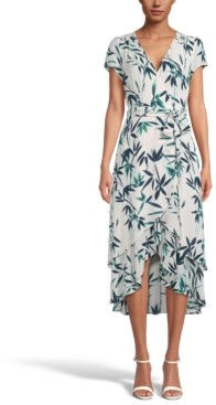 INC International Concepts Inc Printed High-Low Dress, Created for Macy's