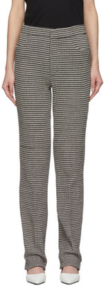 Totême Black and White Troia Trousers