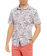 Daniel Cremieux Jeans Paisley Short-Sleeve Woven Shirt