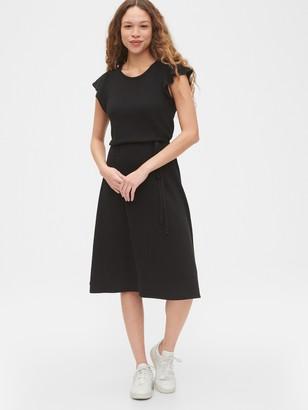 Gap Flutter Sleeve Midi Dress