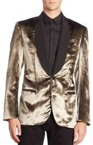 Bally Metallic Button-Down Jacket