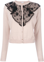 RED Valentino lace embroidered top