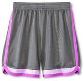 Champion Girls' Basketball Shorts Hardware Gray