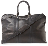 Royce Leather Handcrafted Leather Weekender Bag