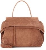 Tod's Exclusive To Mytheresa.com - Wave Small Suede Tote