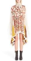 Chloé Women's Tassel Trim Silk Dress